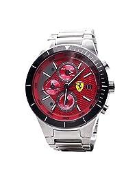 Ferrari Mens Scuderia Sport Chrono Analog Dress Quartz Watch (Imported) 0830269