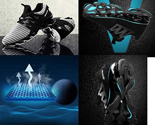 da Corsa Nero Casual LSGEGO Ginnastica Passeggio Traspirante Uomo Sneaker Sportive da Leggera Moda Scarpe da da Scarpe qaqPrOxwEt