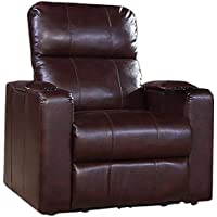 Pulaski Larson Power Recliner with USB and STO, Cocoa
