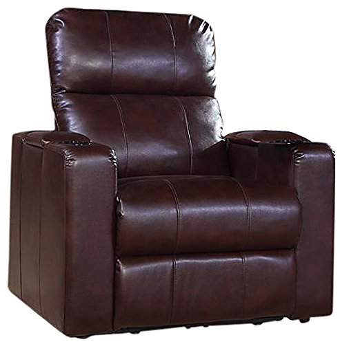 Pulaski Larson Power Recliner with USB and STO, Cocoa ()
