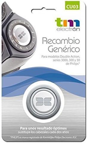 Recambio Generico CU03 para Afeitadoras Philips Hq-3: Amazon.es ...