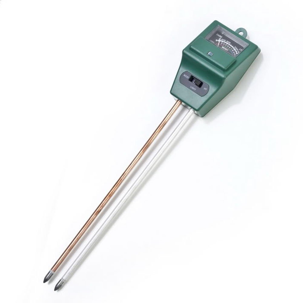 Hinmay 3-in-1 Soil Moisture Meter, PH acidity and Light Tester, Plant Soil Tester Kit, Great For Garden, Farm, Lawn, Indoor & Outdoor (No Battery needed)