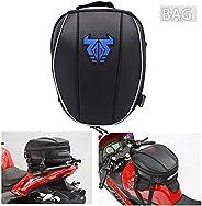 Mochila impermeável para cauda de motocicleta – 12-15L dupla alforje grande capacidade, bolsa para assento de