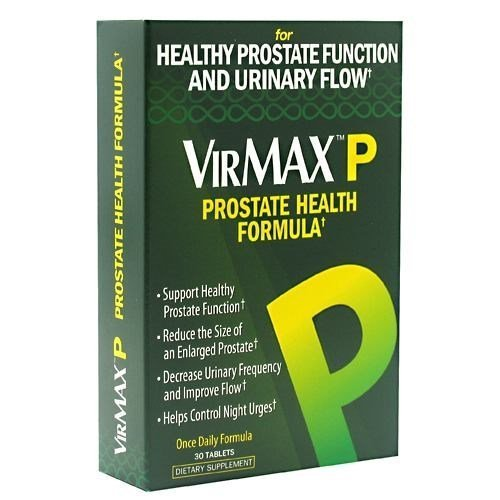 VirMax P Prostate Health, 30 Tablets (8 Pack) by VIRMAX by VirMax