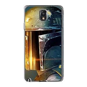 LeoSwiech Samsung Galaxy Note 3 Scratch Protection Phone Cover Customized Vivid Boba Fett Skin [IqE13852inPq]