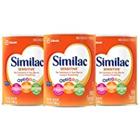 3-Pack Similac Sensitive Infant Formula with Iron (34.9 ounces)