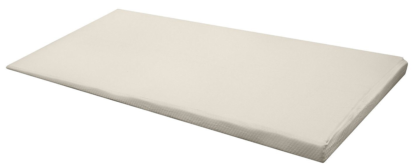"Amazon.com: PureRest Living Hi-Lo Memory Foam Matttess Pad Incline 1.5"" to  4.5"" Topper! (Full) with Bamboo Zipper Cover: Home & Kitchen"