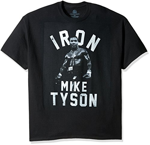 Boxing Hall Of Fame Mens Big And Tall Iron Mike Tyson T Shirt  Black  2Xl