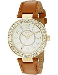 Juicy Couture Womens 1901397 Cali Analog Display Japanese Quartz Brown Watch