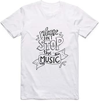 Don't Stop The Music T-Shirt For Men - size M
