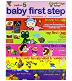 Baby First Step (Pack of 5 DVDs - Learn to Talk/My First DVD/Child First Step/Learn with Fun Alphabet & Number's/Nursery Rhymes)