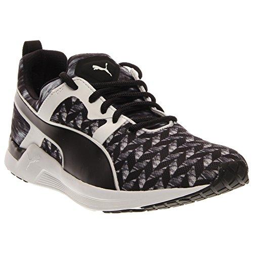 PUMA Women's Pulse XT Clash Training Shoe, Black/White, 7.5 B US