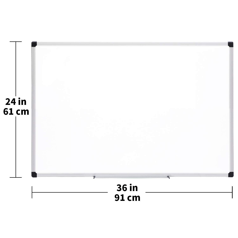 aluminum frame 6 pack Basics Magnetic Dry Erase Board 11 x 14 Inch