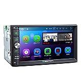 Eonon Double Din Car Stereo Radio Android 7.1 2GB RAM Quad Core en pantalla táctil Dash Head Unit Soporte Bluetooth WiFi MirrorLink AUX USB Cámara de copia de seguridad - 7 pulgadas (NO CD / DVD) -GA2165