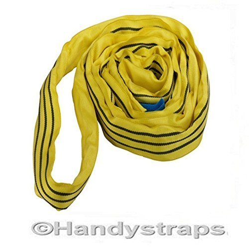 Handy Straps 1 Metre x 3 Ton Endless Round Tested Lifting Sling (0.5m EWL) - 80mm wide