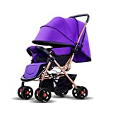 Best Reclining Car Seat Toddlers - Multifunctional Stroller Reclining Seat Folding Lightweight Stroller Direct Review