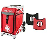 Zuca ''First Aid'' Sport Insert Bag and Red Frame, with Gift Seat Cushion