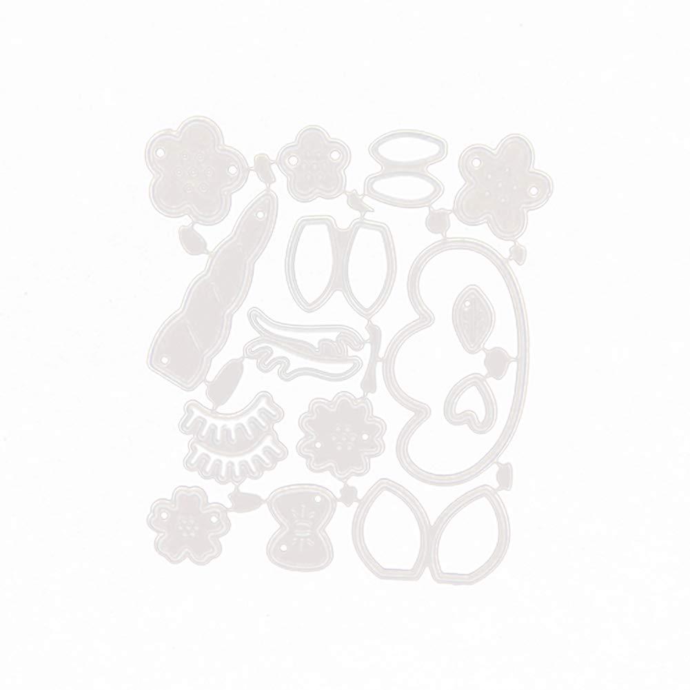 MoGist Stanzschablone Metall Schneiden Schablonen Cartoon Mode Einhorn Form Stanzformen f/ür DIY Scrapbooking Album Papier Karten Sammelalbum Deko