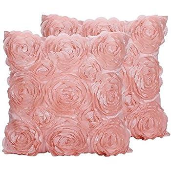 Amazon Generic Beauty Sleep Pink Throw Pillow Cover