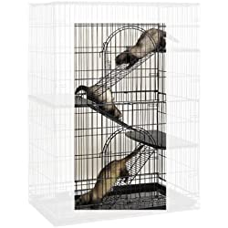 Pro Select Steel Cat Cage Ramp Kit, Set of 3