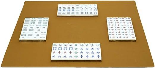 Yhjklm-TY Mahjong Juego, Mahjong Cubierta Mesa de Juego Rubber Mat ...