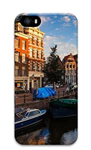 Morning In Amsterdam Custom Design iPhone 5S/5 Protective Case Cover - Polycarbonate