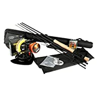 Goture Fly Fishing Rod and Reel Combos Saltwater Freshwater 5/6 and 7/8 for Beginner with Fly Line Fly Lures Full Kit with Rod Case