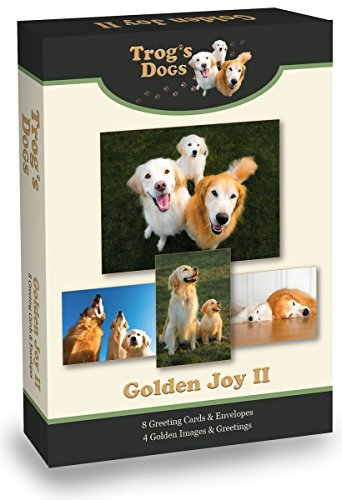 Golden Retriever Greeting Cards: Golden Joy II ()