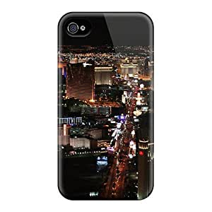 Excellent Iphone 4/4s Case Tpu Cover Back Skin Protector Beutifull Lights