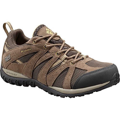 Columbia Womens Grand Canyon Outdry Suede Wandelen Sneakers Modder / Cornstalk
