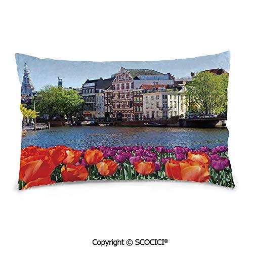 SCOCICI Personalized Rectangle Decorative Pillowcases,20