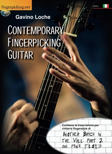 Contemporary Fingerpicking Guitar - (Video on line) (Italian Edition) ()