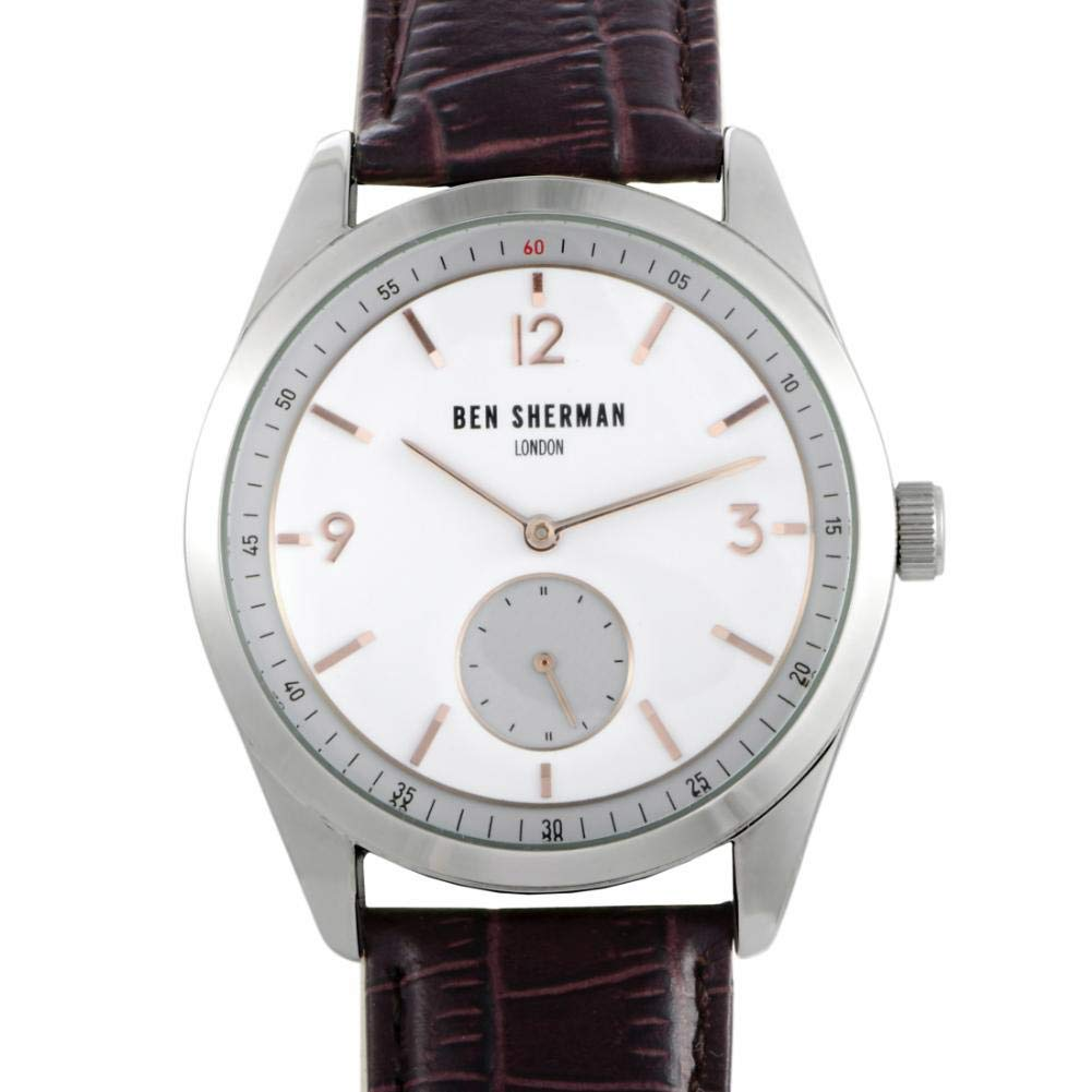 Ben Sherman London Quartz Male Watch WB052BR (Certified Pre-Owned)