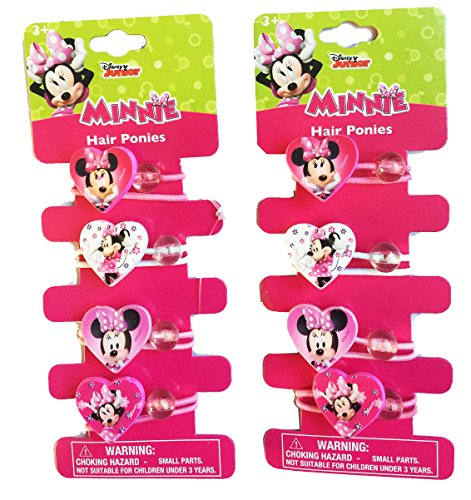 2-Pack Disney Minnie Mouse Bow-tique Hair -
