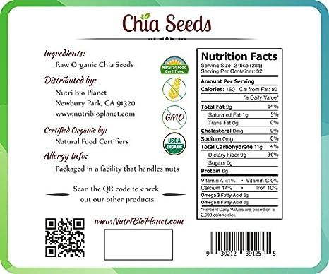 Semillas de Chia: Amazon.com: Grocery & Gourmet Food