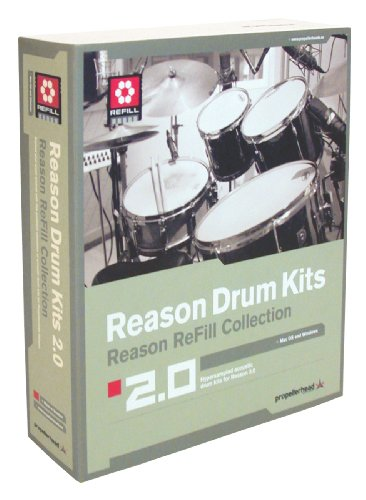 Propellerhead Reason Drum Kits - Propellerhead's Drum Kits Refill for Reason