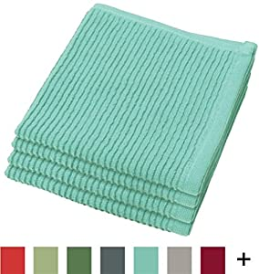 Now Designs Ripple Kitchen Dishcloth, Set of 4