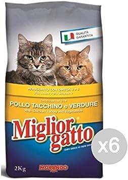 Miglior Gatto Juego 6 Mejor Gato pienso kg 2 Pollo Pavo Ver Comida ...