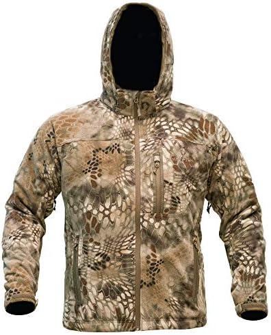 Kryptek Vellus Camo Hunting Jacket (Vellus Collection)