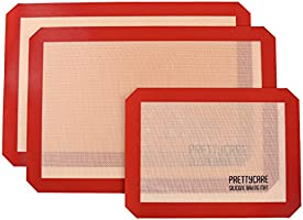 Silicone Baking Mat Set by PrettyCare