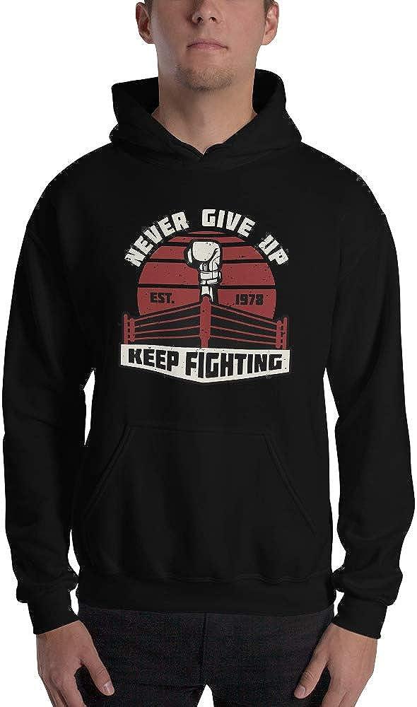 JG Infinite Never Give Up Keep Fighting Unisex Hoodie