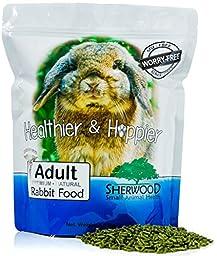 Sherwood Adult Rabbit Food - Timothy blend (Grain & Soy-Free) - 4.5 lb. (Vet Used)