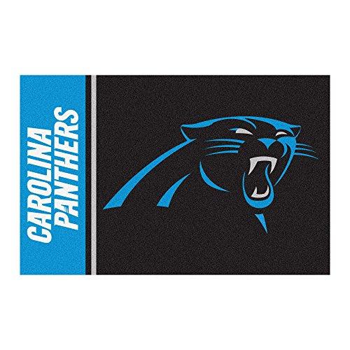 Carolina Panthers Nfl Starter (FANMATS NFL Carolina Panthers Nylon Face Starter Rug)
