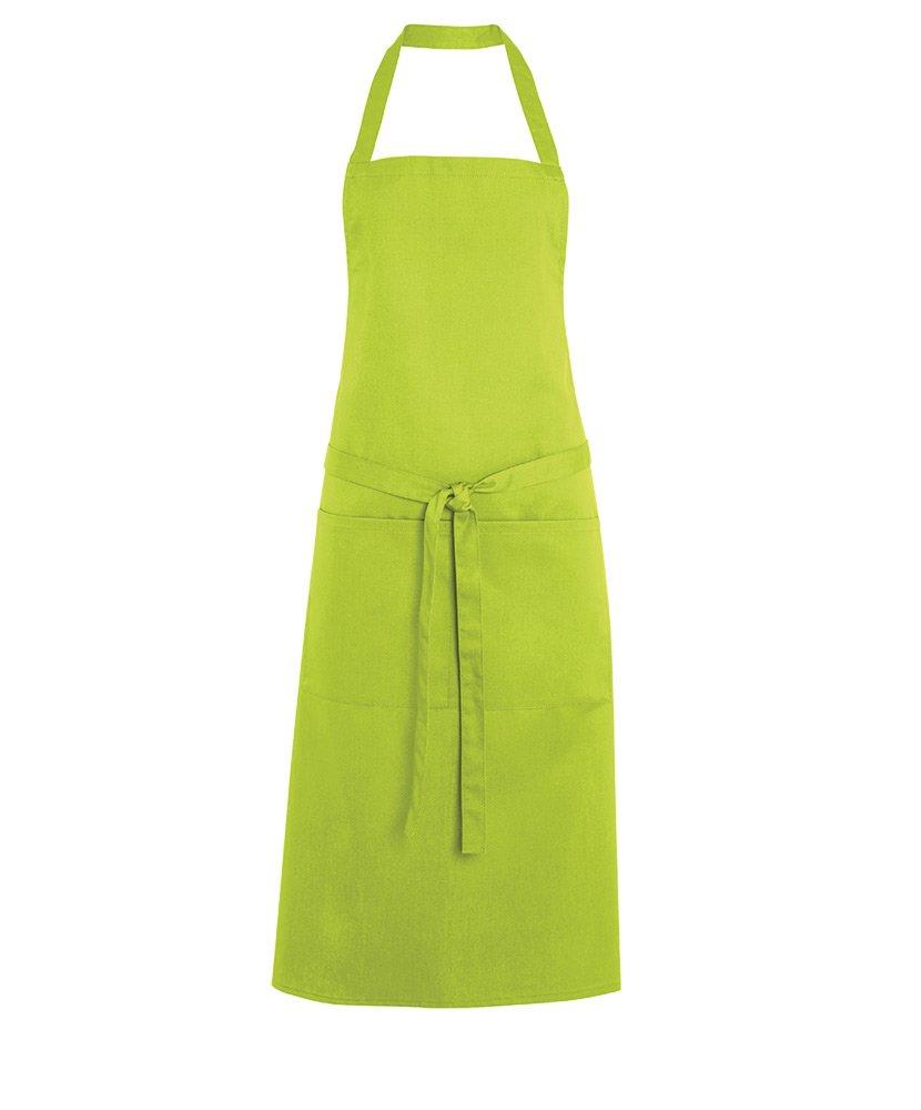 Alexandra STC-W83WH-R Short Waist Apron Plain 67/% Polyester//33/% Cotton White One Size