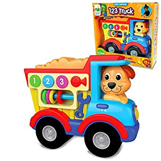 The Learning Journey Early Learning Vehicles – 123 Truck – Sing-Along Electronic STEM Educational Toddler Toy That Teaches 123 – Toys & Gifts for Boys & Girls Ages 18+ Months