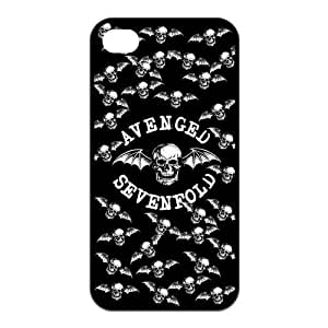 BANGBANGDA A7X Avenged Sevenfold Hard Durable pc Fitted Cover Case for iPhone 4 iPhone 4S -LCI4U191