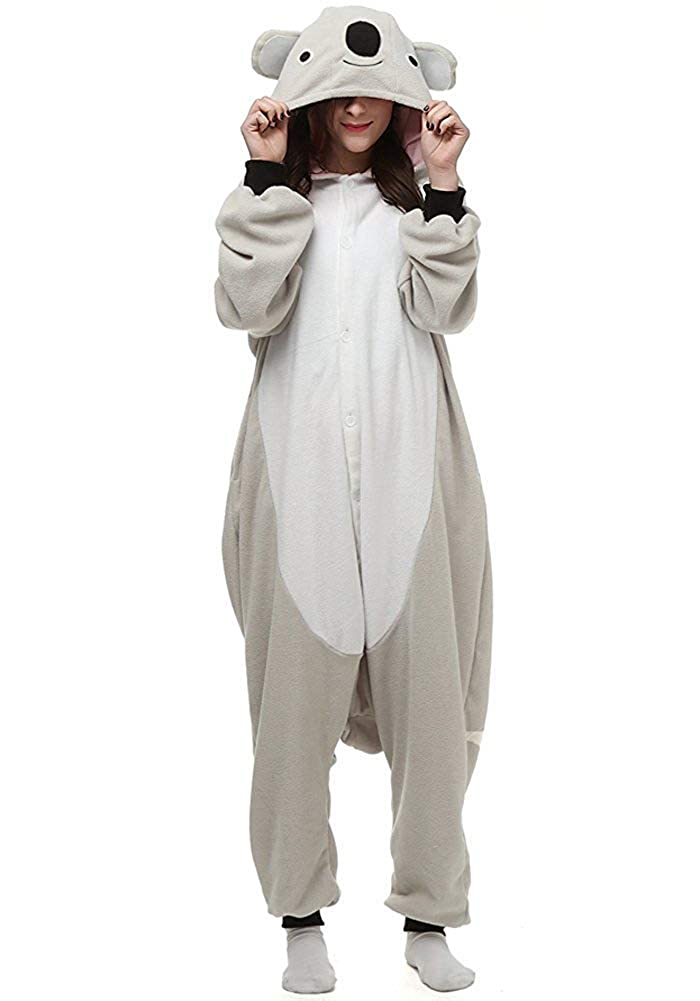 Halloween Unisex Adult Pajamas Cosplay Costume Animal Onesie Sleepwear Nightwear Southed