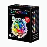 Mega Pastel & Neon Liquid Chalk Markers (18-Pack) Erasable, Chisel Tip Pens for Writing, Drawing, Art, Crafts | Chalkboard, Bistro Board, Classroom | Kid and Adult Friendly | Non-Toxic