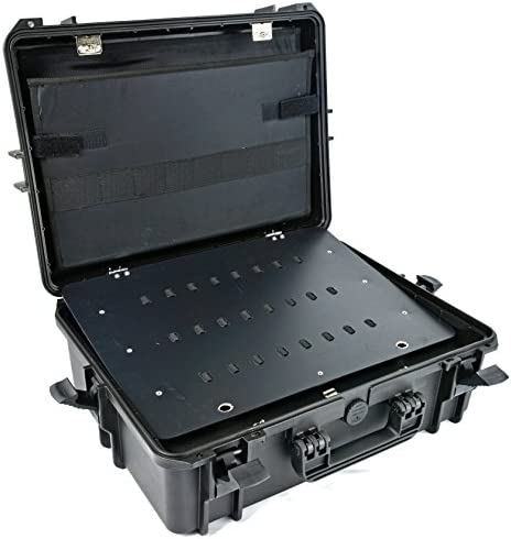 Elephant Elite EL1907t waterproof Technician tool organizer case, briefcase with neck strap