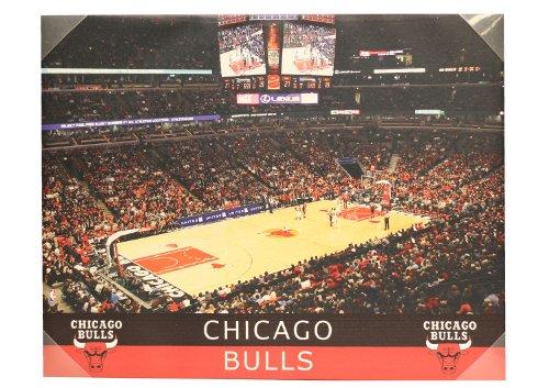 Chicago Bulls Stadium 28 x 22 Canvas Wall - Bulls Stadium Chicago